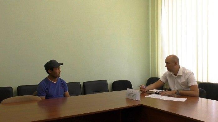 17 июля глава администрации Советского района Владимир Трегуб провел личный прием граждан