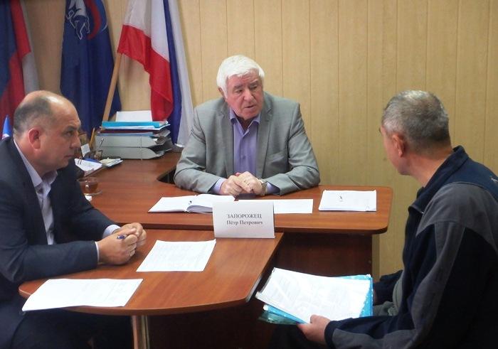 Игорь Чеглаков провёл приём граждан